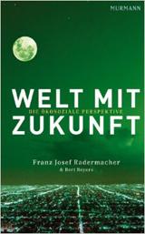 Cover zum Buch: Kleinstadt mit Nachthimmel (alles grün überzogen)