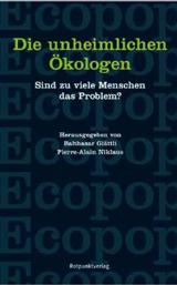 Cover vom Buch: schwarzer Hintergrund mit der Aufschrift Ecopop