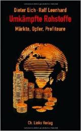 Cover vom Buch: schwarzer Hintergrund mit Stapeln von Münzen