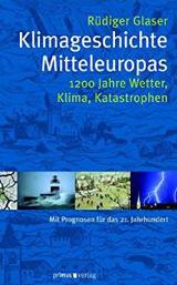 Cover vom Buch: blauer Hintergrund mit Bildern von Blitz, Erde, Wiese und Leuchtturm