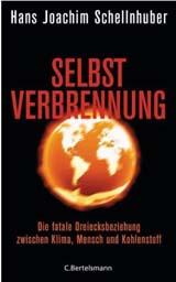 Cover vom Buch: schwarzer Hintergrund mit einer brennenden Weltkugel